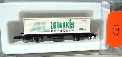 AL Loulakis Getränke, Containerwagen Kolls 87708 Märklin 8615 Z 1/220 *173*