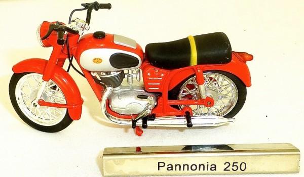 Pannonia 250 Motorrad Moped DDR 1:24 ATLAS 7168109 NEU OVP LA4 µ *
