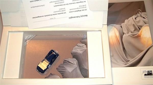 Mercedes Benz Oldtimer Service Werbemodellpackung WIKING OVP neuwertig
