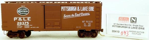 Micro Trains Line 20410 Pittsburgh Lake Erie 20375 40' St. Boxcar 1:160 OVP #H093 å
