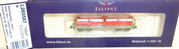 SBB Fans u Muldenkippwagen Schüttwagen EpV Liliput L265587 NEU 1:160 N HS2 å *