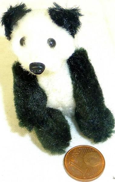 Schuco Pandabär mit Anstecknadel Panda 50er/60er Jahre Antik # å