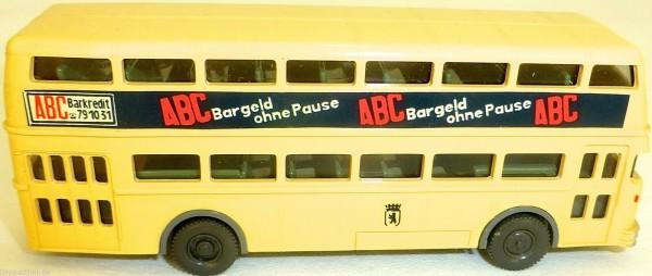 ABC Barkredit 2 Kleinserie Werbebus D2U Tür zu aus Wiking H0 1:87 GD4 å *