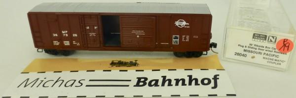 Missouri Pacific 50' Rib Side Boxcar 367926 Micro Trains Line 26040 1:160 P19 å