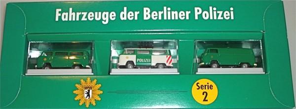 Fahrzeuge der Berliner Polizei Serie 2 BREKINA OVP
