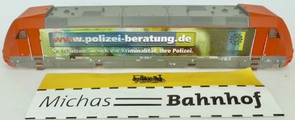 Polizei Beratung Ellok 101 029-7 Gehäuse TT 1:120 Ersatzteil unv. Druck å