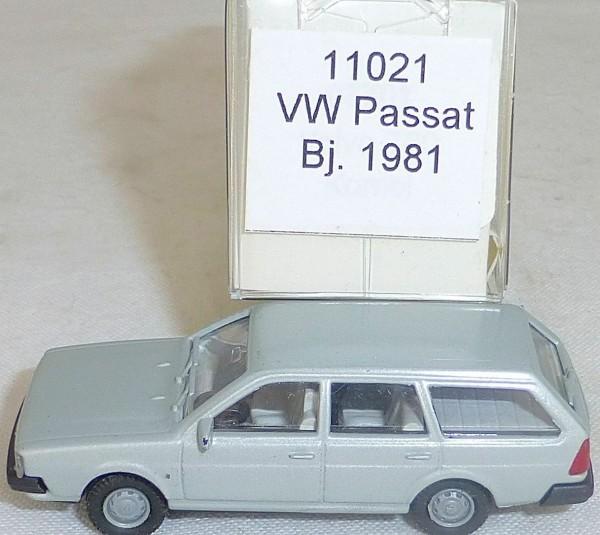 Silbermetallic VW Passat Bj. 1981 IMU EUROMODELL 11021 H0 1:87 OVP # å