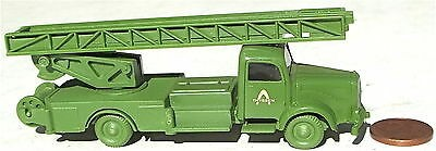 Thyssen Feuerwehr Leiterwagen Werksfeuerwehr Mercedes 5000 IMU 1:87 Replika å