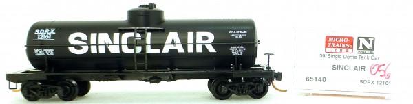 Micro Trains Line 65140 Sinclair 12161 39' Single Dome Tank Car 1:160 OVP #i056 å