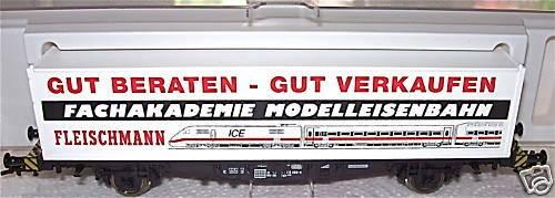 Fachakademie Containerwagen Fleischmann 95 5243 OVP 1:87 å GA5