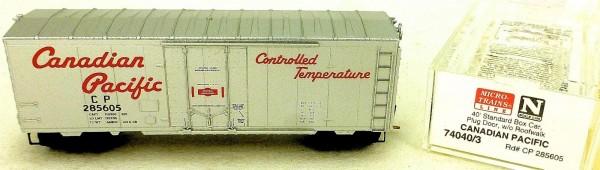 Micro Trains Line 74040/3 Canadian Pacific 285605 40´ Box Car 1:160 OVP #E å *