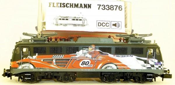 E 115 Ellok 80 Jahre Autozug DIGITAL SOUND Fleischmann 733876 N 1:160 OVP å *