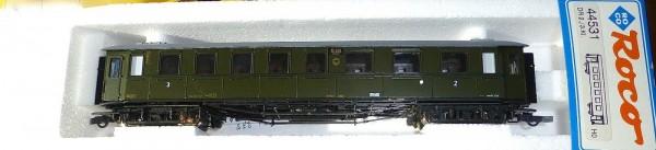 Schnellzugwagen 2/3. Klasse DRG NEM KKK Roco 44531 H0 1:87 OVP KA3 µ *