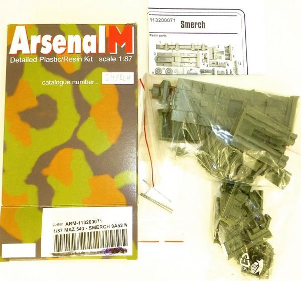 MAZ 543 Smerch 9A52 M ARM 113200071 Arsenal M Bausatz ungebaut 1:87 å *