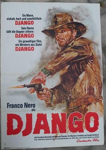 Django Franco Nero Constantin Film Filmplakat