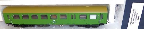 Reko Packwagen grün/braunes Dach DR Ep IV HERIS 80062 H0 1:87 NEU OVP #B2C3 µ