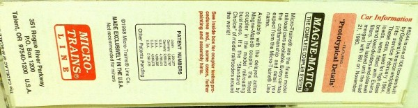 50´ Standard Boxcar FRISCO 6244 Micro Trains Line 32060 N 1:160 C å*