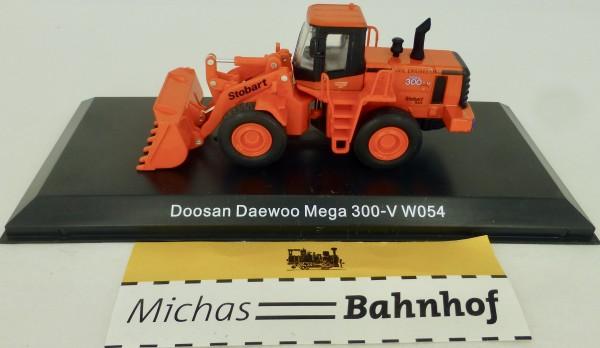 Bagger Doosen Daewoo Mega 300-V W054 Stobart Atlas 4664103 H0 1:76 OVP µ *