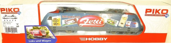 BR 101 ELok Zetti DBAG EpVI DSS NEM Piko 59444 H0 1:87 OVP LK1 µ *