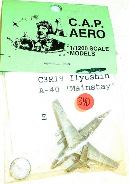 1 Flugzeug C3R19 Ilyushin Mainstay CAP Aero für Schiffsmodell 1:1200 SHP340 å √