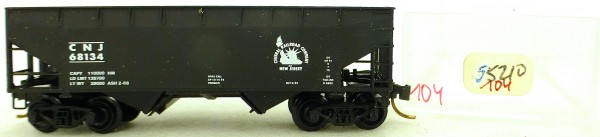Micro Trains Line 55210 CNJ 68134 33' Twin Hopper OVP 1:160 #K104 å