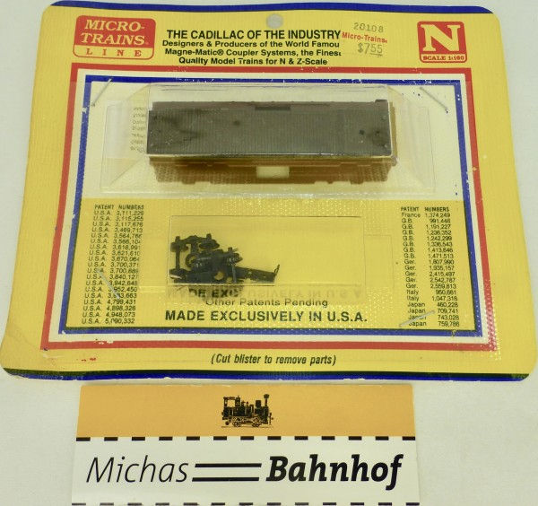 BLISTER KIT Bausatz Micro Trains 20108 N 1:160 HC6 å