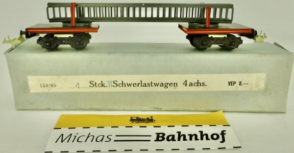 Schwerlastwagen 4-achsig Dahmer Modellbau 159/85 OVP TT 1:120 OVP HL4 å