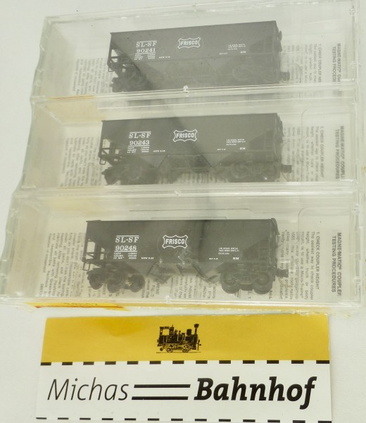 Frisco 33' Twin Bay Hopper 3-tlg Set Micro Trains Line 88012:160 Q å