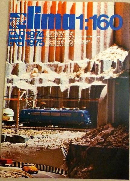 LIMA 1974 1975 Katalog 1:160 micro model å *