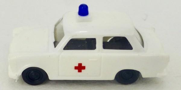 Krankenwagen Trabbi Trabant Rot Kreuz TT 1:120 å