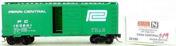 Micro Trains Line 20160 Penn Central 103601 40' St. Boxcar 1:160 OVP #H119 å