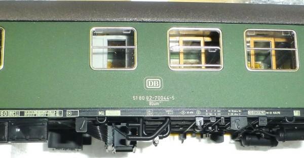 ADE 3003 BDüm 273 D-Zug Wagen 51 80 82-70044-5 grün 1:87 Fertigmodell OVP å *