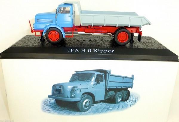 IFA H6 Kipper Fahrerhaus hellblau 1:43 Atlas IST NEU in BOX µ * UK