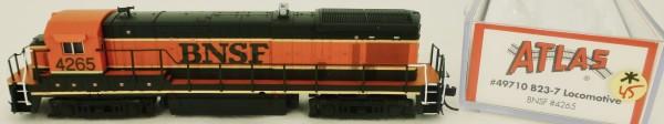 Atlas 49710 B23-7 BNSF 4265 Diesellok Decoder Ready OVP N 1:160 #45* å