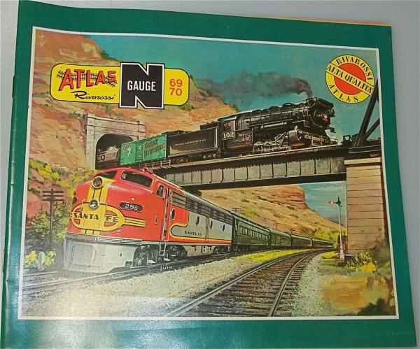 ATLAS Spur N Katalog 1969-70 å
