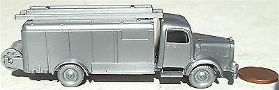 Feuerwehr Gerätewagen Silberwehr Mercedes 5000 silber IMU H0 1:87 Replika 94 å *