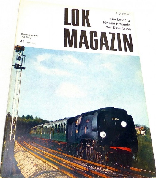 Lok Magazin Nr.41 April 1970 - Die Lektüre für alle Freunde der Eisenbahn # å