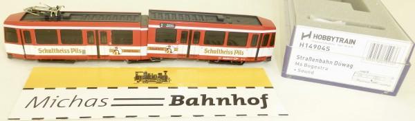 Hobbytrain H14904S SOUND Schultheiss Straßenbahn Düwag M6 BOGESTRA 1:160 HS5 µ *