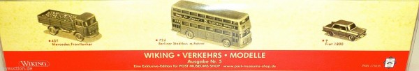 WIKING VERKEHRS MODELLE Ausgabe 5 PMS 173636 WIKING H0 OVP LF1 å