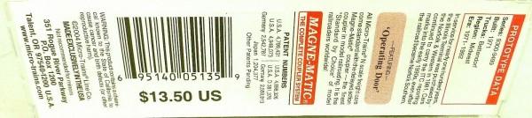 50´ Standard Boxcar ILLINOIS TERMINAL 9444 Micro Trains Line 31010 N 1:160 C å*