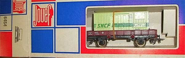 CNC Containerwagen SNCF Iho 104568 Jouef 6454 H0 1:87 å *