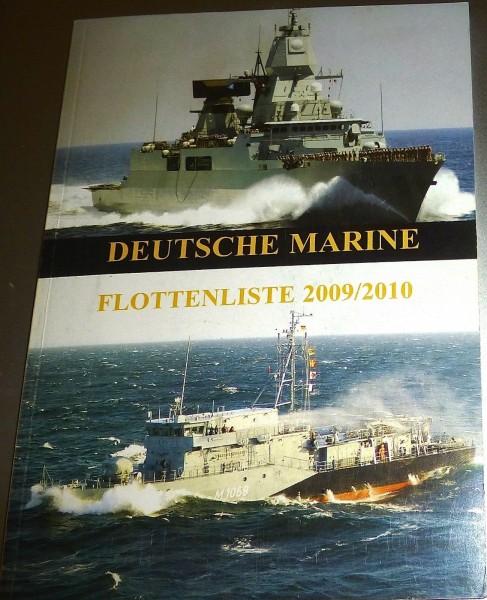 Deutsche Marine Flottenliste 2009/2010 HJ3 å *