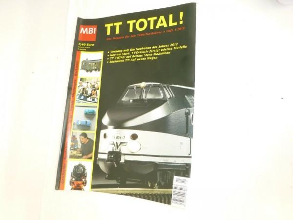 TT Total 6te Jahrgang Heft 1.2012 aus 2012 MBI µ *