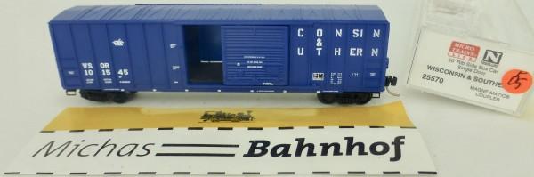Wisconsin Southern 50' Rib Side Boxcar Micro Trains Line 25570 1:160 P05 å