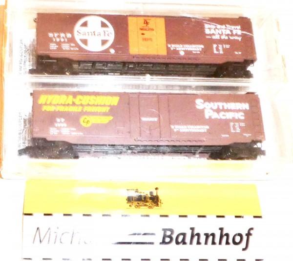 Micro Trains Line 96-56 Fallen Flags 1996 N-Scale Coll. 2-tlg Set N 1:160 +43 å
