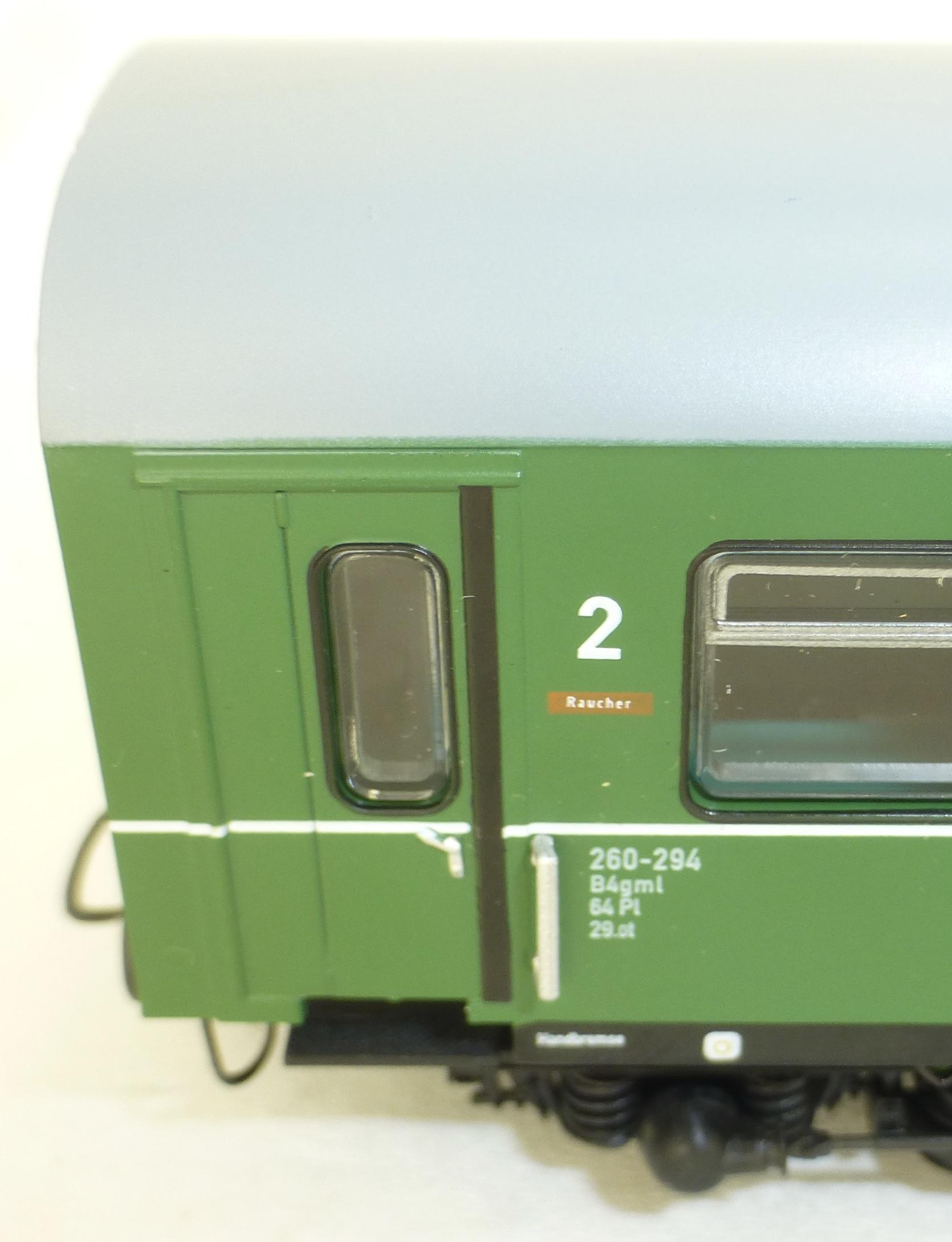 DR Hilfszug 3tlg grün Heris 80018 H0 1:87 NEU  KH2   å  *