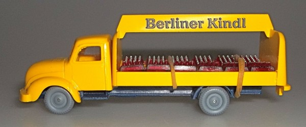 Berliner Kindl Getränketransporter Bier LKW Magirus Rundhauber IMU 1:87 å
