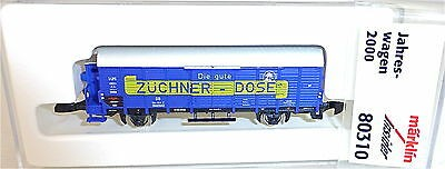 Züchner Dose Insider 2000 miniclub Märklin 80310 Spur Z 1/220 OVP #3010#