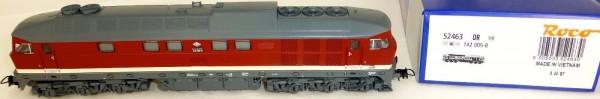 142 005-8 Diesellok DR EpIV DIGITAL SOUND Roco 52463 H0 1:87 OVP NEU HB1 µ *