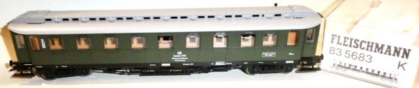 Fleischmann 83 5683 Mannschaftswagen Unfallhilfszug DB Ep3 H0 1:87 OVP NEU KB6 å